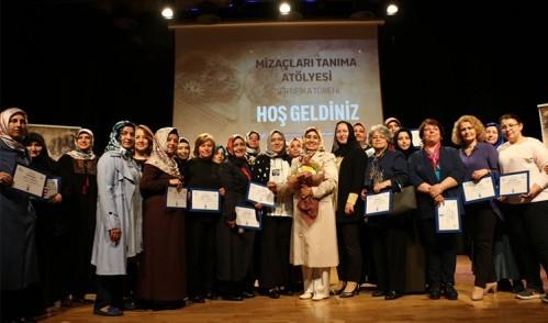 Eyüpsultanlı kadınlar sertifikalarını aldı