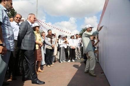 Eyüpsultan Belediyesi, 15 Temmuz, 15 Temmuz Çizim Duvarı, Eyüpsultan Belediye Başkanı Remzi Aydın