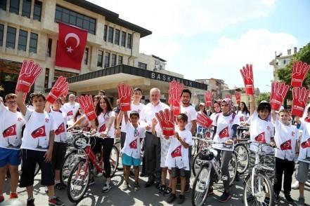 Eyüpsultan Belediyesi, 15 Temmuz hain kalkışması, Bisiklet turu, Eyüpsultan Belediye Başkanı Remzi Aydın