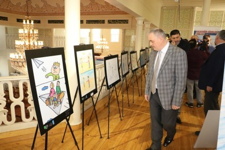 Dünya 5'ten Büyüktür Karikatür yarışması, Eyüpsultan Belediyesi, Eyüpsultan Belediye Başkanı Remzi Aydın