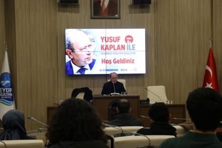 Yusuf Kaplan, Düşünce Atölyesi, Eyüpsultan Belediyesi, Kültür İşleri Müdürlüğü