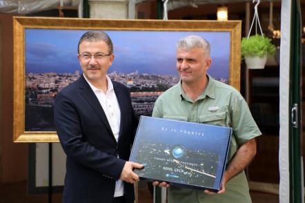 Eyüpsultan'da 'Bir Dünya Anadolu' sergisi açıldı