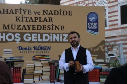 """""""Sahafiye ve Nadide Kitaplar Müzayedesi"""" Kitapseverlerle Buluştu"""